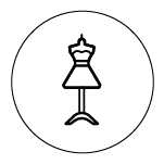 Icon von einer Mannequin Puppe