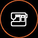 Icon von einer Nähmaschine