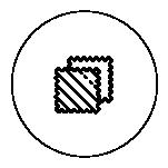 Icon von Stoff-Fetzen