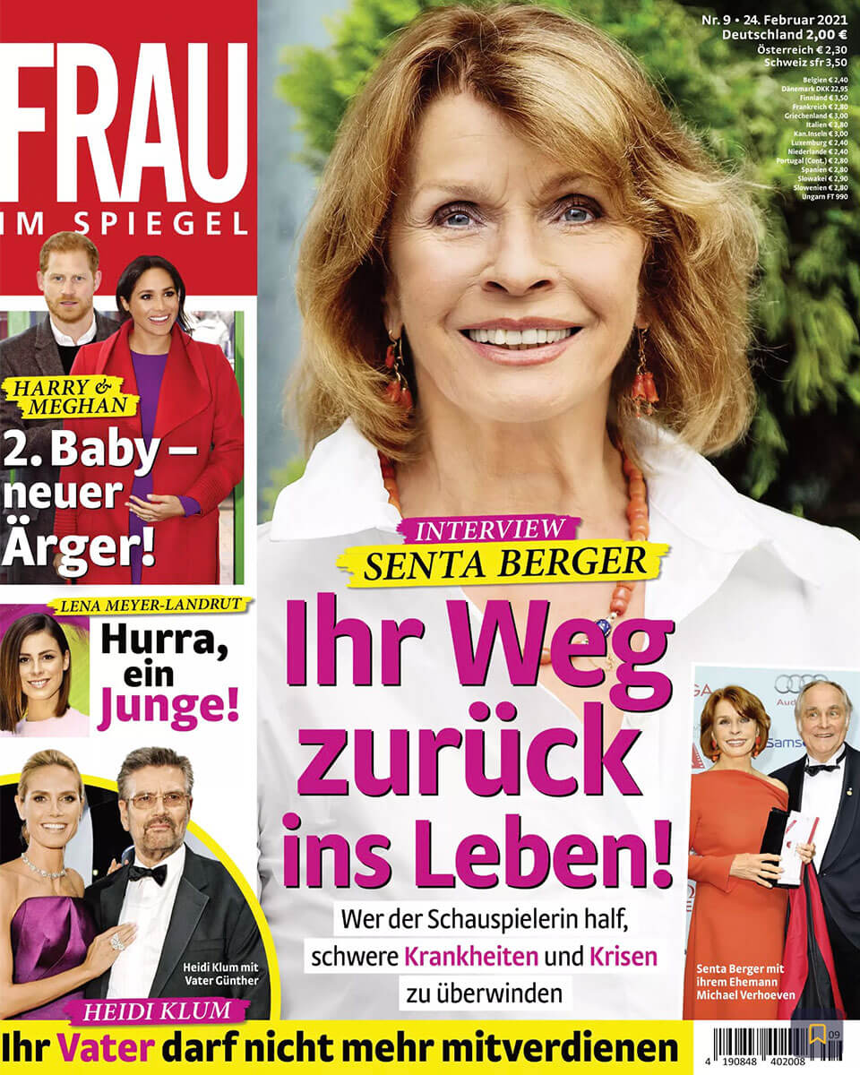 Titelblatt von Frau im Spiegel von Februar 2021