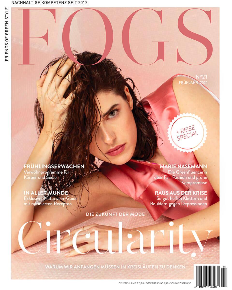 Titelblatt von Fogs Magazin der Frühjahrsausgabe 2021