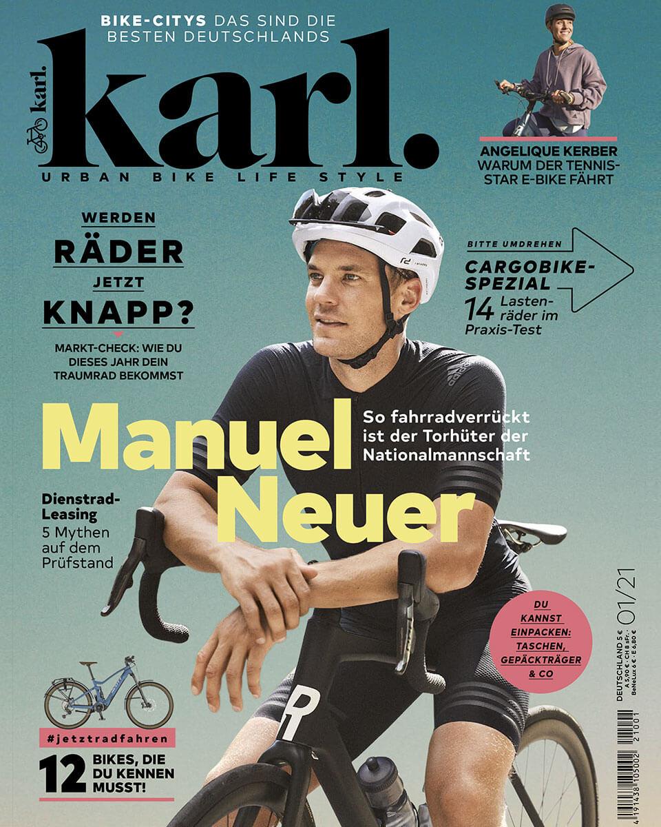 """Titelseite von """"Karl"""" Magazin, Ausgabe 1 2021"""