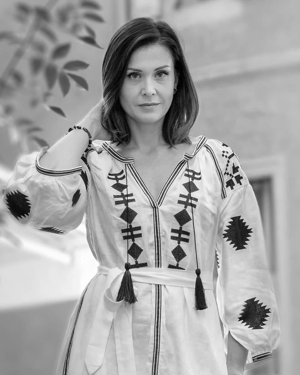 schwarz-weiss Portrait von Alexandra Schilowskaja
