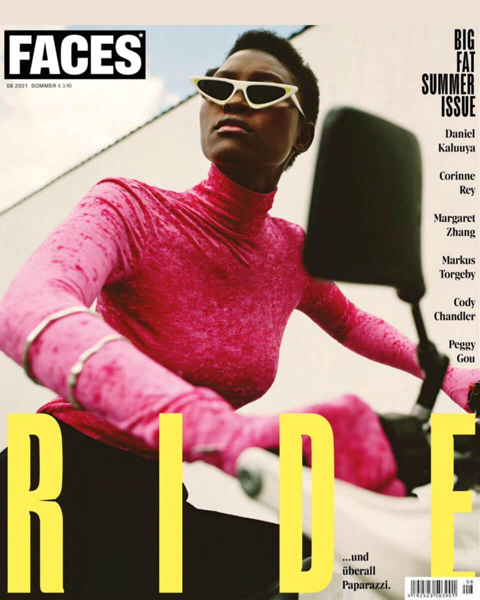 """Titel von """"FACES"""" Magazin, Ausgabe August 2021"""