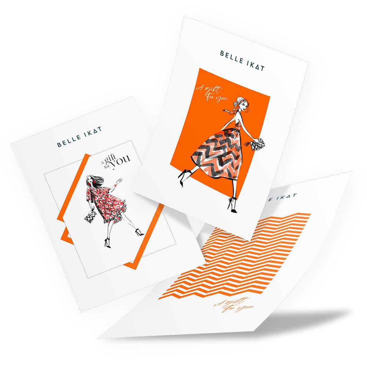 Mehrere Gift Cards von Belle Ikat